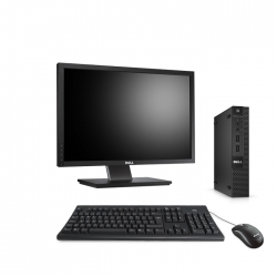 Pack Dell OptiPlex 9020 micro - 8Go - SSD 500Go - Windows 10 - Ecran 22''
