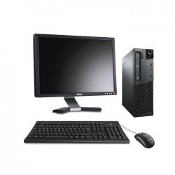 """Lenovo ThinkCentre M81 SFF - linux - i5 - 8Go - 120go ssd + écran 22"""""""