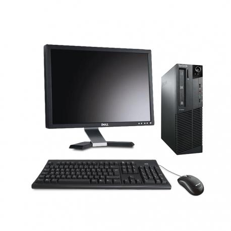 """Lenovo ThinkCentre M81 SFF linux - i5 - 8Go - 240go ssd + écran 20"""""""