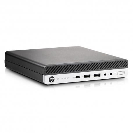 HP EliteDesk 800 G3 DM - 4Go - SSD 120 Go - Linux