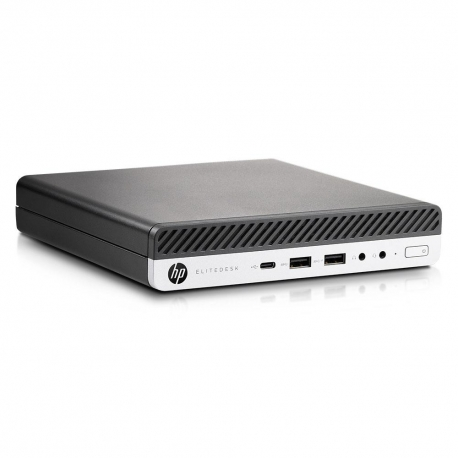 HP EliteDesk 800 G3 DM - 8 Go - SSD 120 Go - Linux