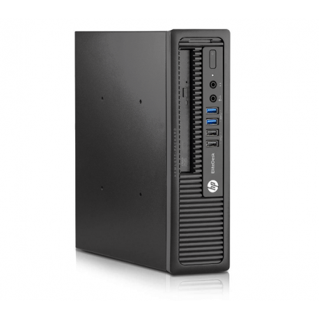 HP EliteDesk 800 G1 USFF - 8Go - SSD 120Go