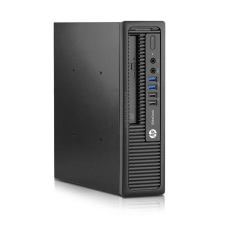 HP EliteDesk 800 G1 USFF - 4 Go - SSD 120 Go - Linux