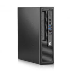 HP EliteDesk 800 G1 USFF - 4 Go - SSD 240 Go - Linux
