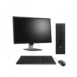 """Pack HP ProDesk 600 G1 SFF - 8Go - SSD 120 Go + Écran 23"""" - Linux"""