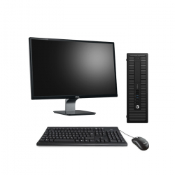 """Pack HP ProDesk 600 G1 SFF - 4 Go - 2 To HDD + Écran 23"""" - Linux"""