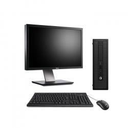 "Pack HP ProDesk 600 G1 SFF - 8Go - SSD 240 Go + Écran 24"""