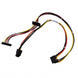 Câble alimentation disque dur SATA de bureau HP - 611895–001