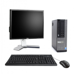 Pack Dell OptiPlex 9020 SFF - 8Go - HDD 500Go - Windows 10 - Ecran 19''