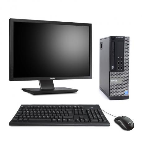 Pack Dell OptiPlex 9020 SFF - 8Go - HDD 500Go - Windows 10 - Ecran 22''