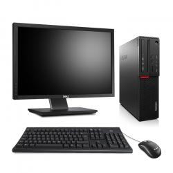"""Lenovo ThinkCentre M800 SFF - 16Go 240Go SSD - Ecran 22"""""""