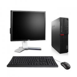 """Lenovo ThinkCentre M800 SFF - 8Go 240Go SSD - Ecran 19"""""""