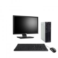 PACK Lenovo ThinkCentre M83 SFF - 16Go - 240Go SSD + Ecran 22''