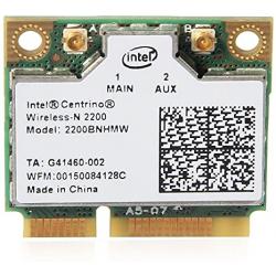 Carte WIFI Intel Centrino Wireless-N 2200 - 2200BNHMW