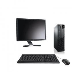 Pack Ordinateur de bureau reconditionné - Lenovo ThinkCentre M73 SFF - 8Go - 500Go HDD - Ecran20