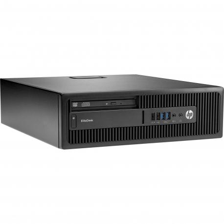 HP EliteDesk 800 G2 SFF - Linux - 8 Go - 120 Go SSD