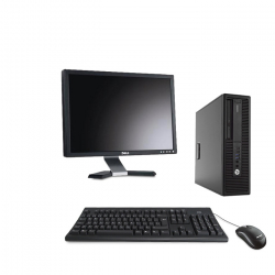 HP EliteDesk 800 G2 DM - 8Go - 120Go SSD - Ecran20