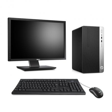HP ProDesk 400 G5 Tour - 8Go - SSD 240Go - Ecran22