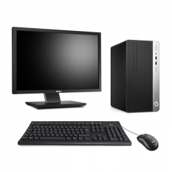 HP ProDesk 400 G5 Tour - 16Go - SSD 240Go - Ecran22
