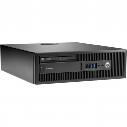 HP EliteDesk 800 G2 SFF - 4 Go - 120 Go SSD - Linux