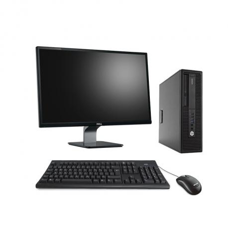 HP EliteDesk 800 G2 DM - 8Go - 2 To HDD - Ecran 23