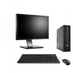 HP EliteDesk 800 G2 DM - 8 Go - 240 Go SSD - Ecran 24