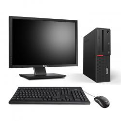 Ordinateur de bureau reconditionné - Lenovo ThinkCentre M700 SFF - 8Go - 500Go HDD - Ecran22