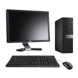 Dell OptiPlex 7050 SFF - 16Go - 240Go SSD - Ecran 20
