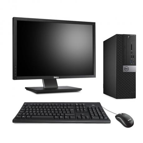 Dell OptiPlex 7050 SFF - 8Go - 240Go SSD - Ecran 20