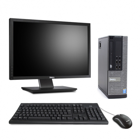 "Dell OptiPlex 9020 SFF - 8Go - 500Go HDD + Ecran 22"""