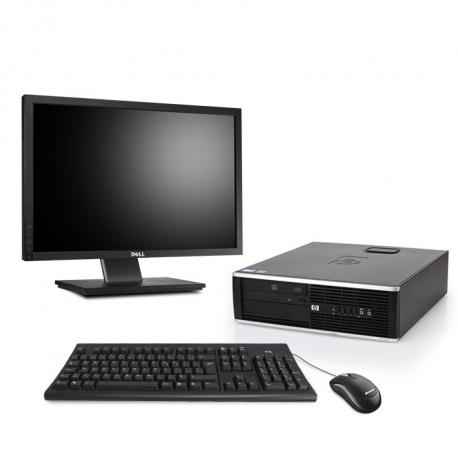 HP Compaq Elite 8200 DT - 8Go - 500Go HDD - Ecran22