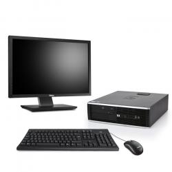 HP Compaq Elite 8200 DT - 8Go - 2To HDD - Ecran22