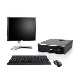 HP Compaq Elite 8200 DT - 8Go - 500Go HDD - Ecran19