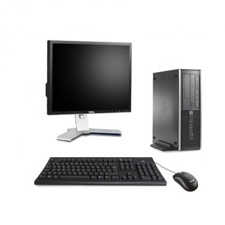 """HP Compaq 6200 Pro - I3 - 4 Go - 500 Go HDD + Écran 19"""""""