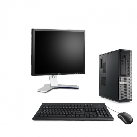 "Pack Dell OptiPlex 790 DT - 8Go - 2 To HDD + Écran 19"""