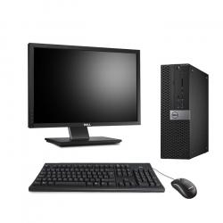 "Dell OptiPlex 5040 SFF - 8Go - SSD 240 Go + Écran 22"""