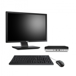 HP ProDesk 600 G4 DM - i5 - 8Go - 500Go HDD - Ecran22