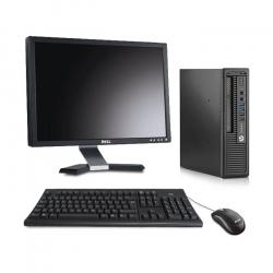 HP EliteDesk 800 G1 USFF - 8Go - 500Go HDD - Ecran20