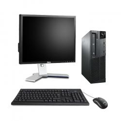 Lenovo ThinkCentre M81 SFF - 4 Go - 500 Go HDD - Ecran19