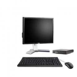 HP EliteDesk 800 G1 Desktop Mini - 4Go - 120Go SSD - Ecran19