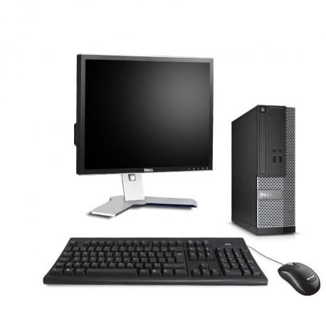 Dell OptiPlex 3020 SFF - 8 Go - 500 Go HDD + Écran 19