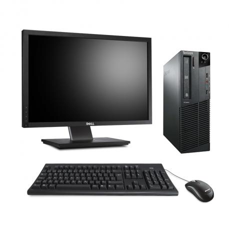 Lenovo ThinkCentre M81 SFF - 8Go - 2To HDD - Ecran 22