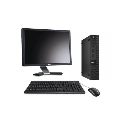 Dell OptiPlex 3020 Micro - 8Go - SSD 120 Go - Ecran 20