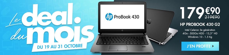 Le deal du mois  HP Probook 430 G2
