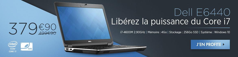 Dell E6440 - Libérez la puissance du Core i7