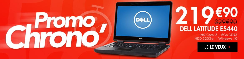 110€ de réduction sur le 14'' de Dell doté de 8Go de RAM !