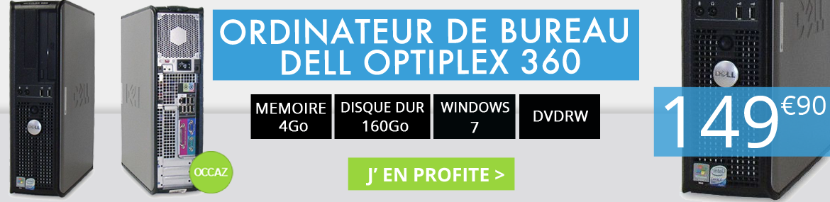 Offre Dell Optiplex 360