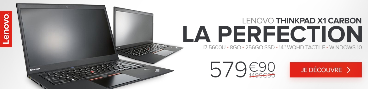 Lenovo ThinkPad X1 Carbon - Offre promotionnelle