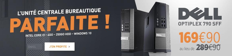 Promo Dell Optiplex 390 SFF 4Go 250Go