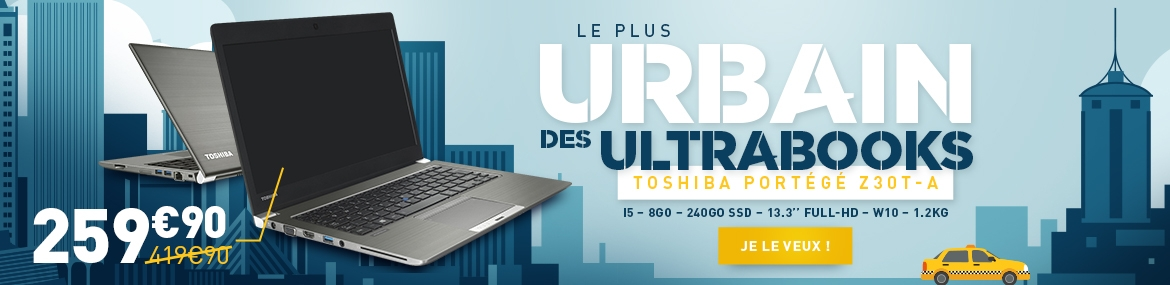 Offre Toshiba Z30T-A : 259.90